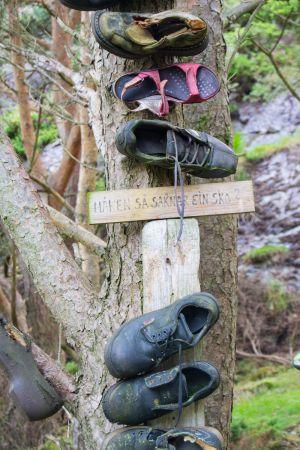 Nåken som saknar ein sko ?